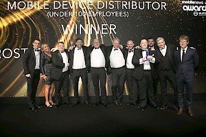 Eurostar Global wins 'Best Device Distributor (Under 100 Employees)' at the Mobile News Awards